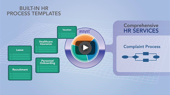 link to explainer video on extending SasS IT services to human resources